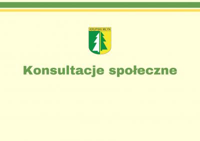 Konsultacje społeczne w sprawie nadania nazwy ulica św. Anny nienazwanej drodze w Krupskim Młynie