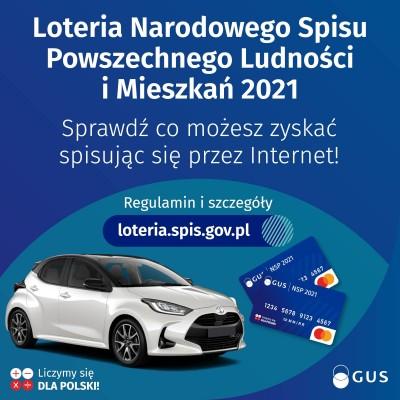 Loteria Narodowego Spisu Powszechnego Ludności i Mieszkań 2021