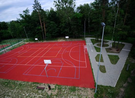 Przez sport do zdrowia - modernizacja lokalnej infrastruktury sportowej w Krupskim Młynie