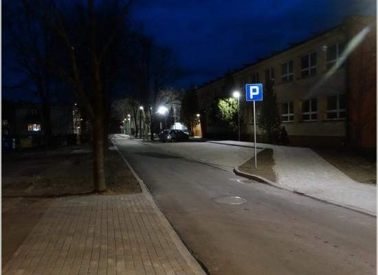 Rozbudowa ulicy Dąbrowskiego w Krupskim Młynie