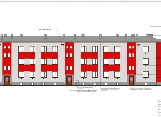 Poprawa efektywności energetycznej budynku wielorodzinnego na terenie Gminy Krupski Młyn